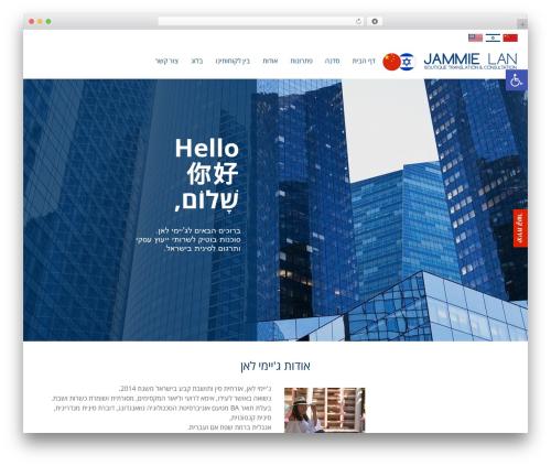 Scoop best WordPress theme - chineseinisrael.com