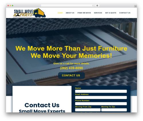 WP template Movedo - smallmoveexperts.com