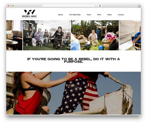 Divi business WordPress theme - rebelwayent.com