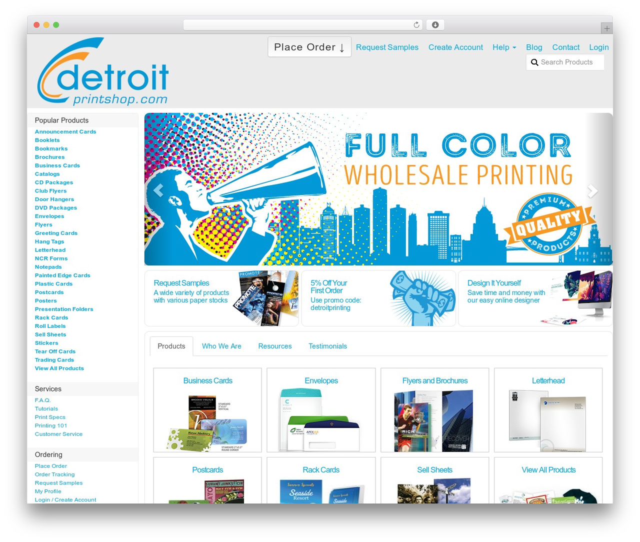 eleven40 Pro Theme template WordPress - detroitprintshop.com
