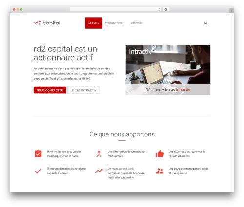 Benchmark WP theme - rd2capital.com