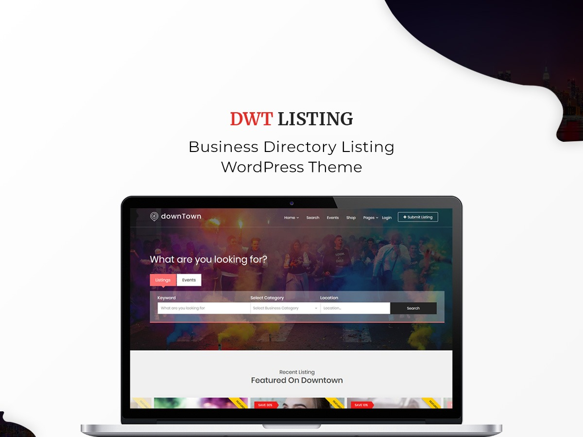 DWT Listing company WordPress theme