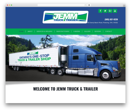 GeneratePress best free WordPress theme - jemmtruckandtrailer.com