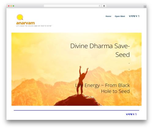 WP template Ascension - anarvam.com