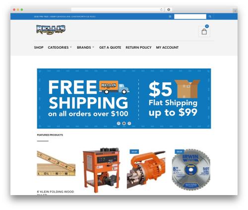 The Retailer WordPress theme - bsc-ironworkertools.com