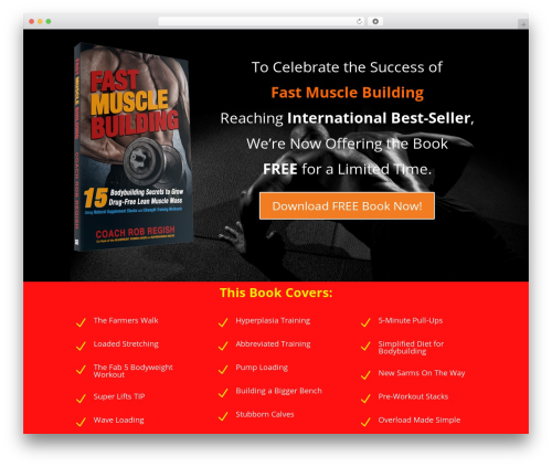 Theme WordPress Divi - fastmusclebook.com