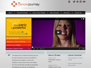 Albedo for Cancer Journey WordPress page template