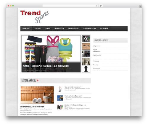 Avenue free WP theme - trendsports.at