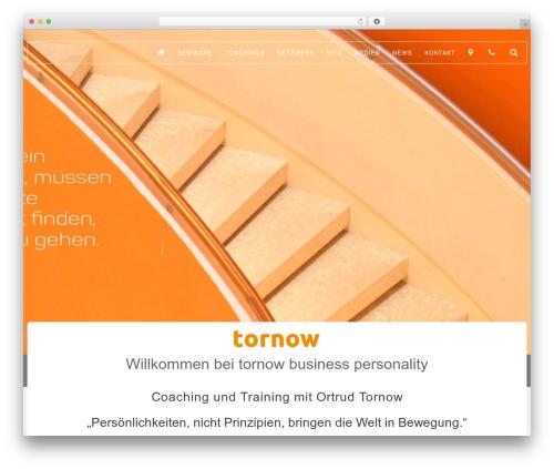 Best WordPress template Wlad Framework - tornow.de
