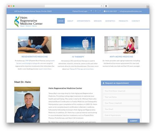 Best WordPress theme Soulmedic - tampahealthcenter.com