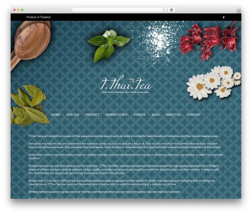California WordPress theme - tthaitea.com