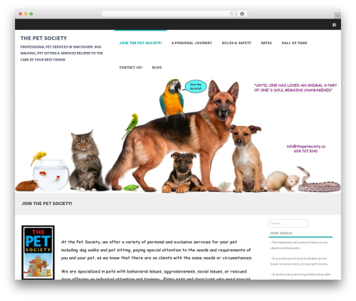 Formation WordPress theme download - thepetsociety.ca