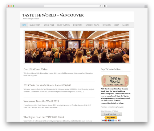 Fresh And Clean WordPress theme - ttwvan.com