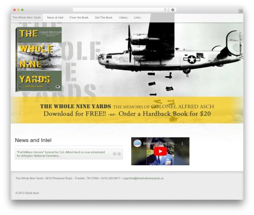 Gantry Theme for WordPress theme WordPress - thewholenineyards.us