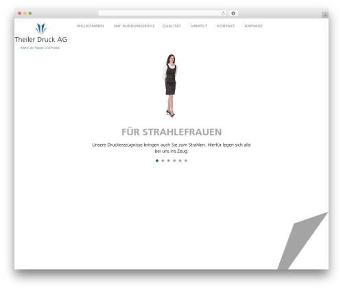 Gantry Theme for WordPress WordPress website template - theilerdruck.zeitungsdrucker.ch