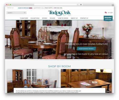 Kallyas WordPress theme - tudor-oak.co.uk