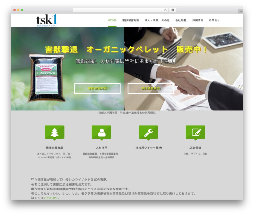 Lucy WordPress theme - tsk1.co.jp