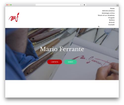 neve WordPress theme - marioferrante.com