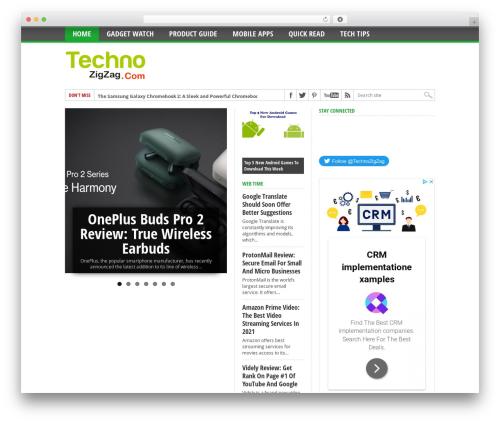 Free WordPress WP-PostRatings plugin - technozigzag.com