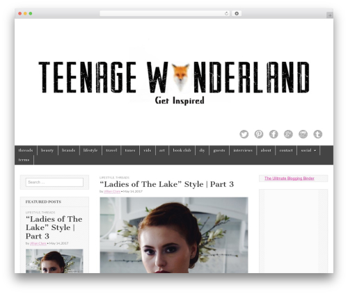 Template WordPress Magazine Basic - teenagewonderland.com