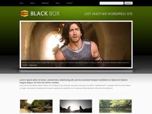Theme WordPress BlackBox Green