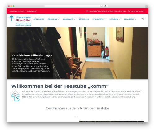 Theme WordPress HelpingHands - teestube-komm.de