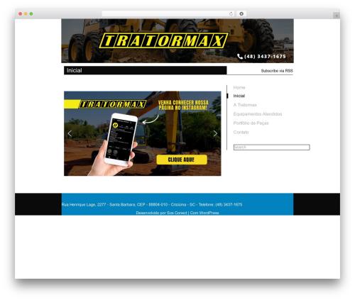 WP theme Kasrod - tratormax.com.br