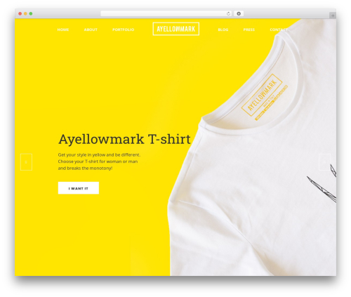 Averly WordPress theme - ayellowmark.com