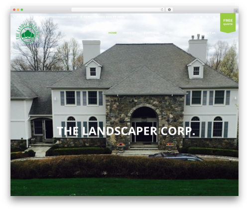 Landscaping WP theme - thelandscapercorp.com