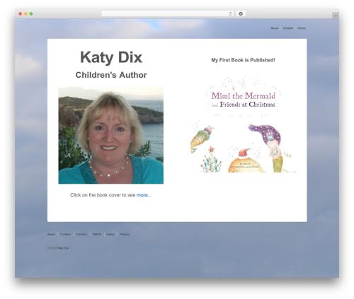 Responsive WordPress template free download - katydix.com