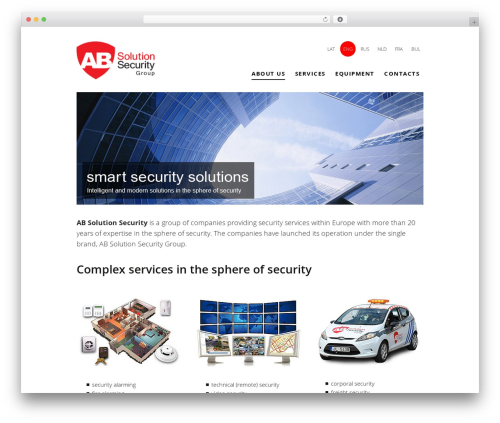 Theme WordPress Twenty Thirteen - absolutionsecurity.com