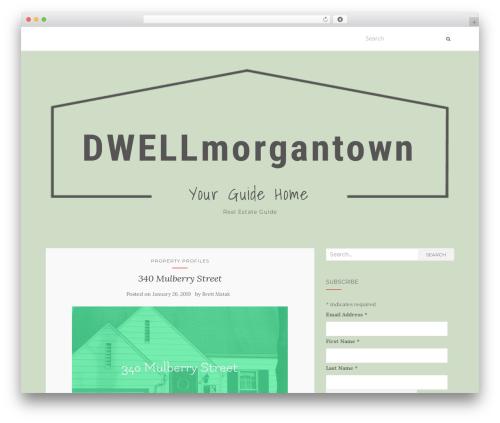 Activello free website theme - dwellmorgantown.com