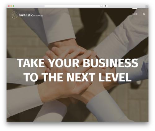 Avada business WordPress theme - funtasticpartners.com