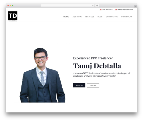 Jupiter best WordPress theme - tanujdebtalla.com