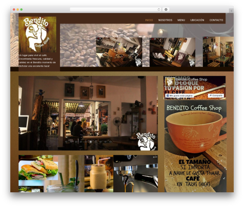 SKT Coffee best free WordPress theme - benditocali.com