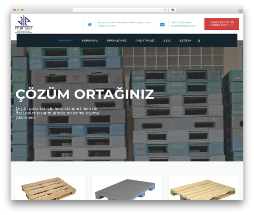 Theme WordPress Industrial - vatanpalet.com