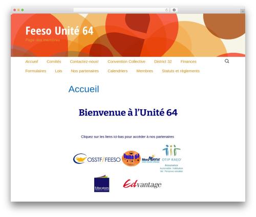 Twenty Thirteen theme free download - feesounite64.com