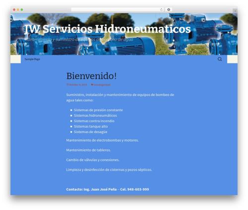 Twenty Thirteen theme WordPress - jwservicios.com