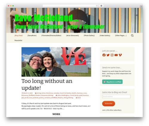 Twenty Thirteen WordPress theme - mcclellandmedia.com