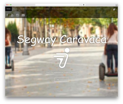 Arcade Basic template WordPress - segwaycaravaca.com