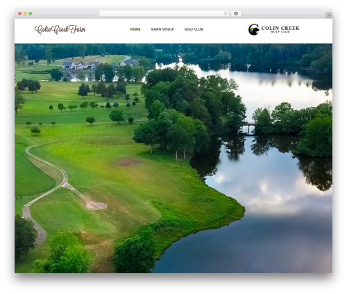 Averly WordPress wedding theme - colincreekfarm.com