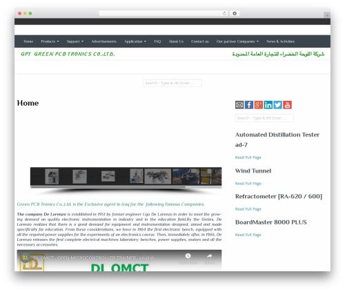 Best WordPress template Almasi - greenpcbtronics.com