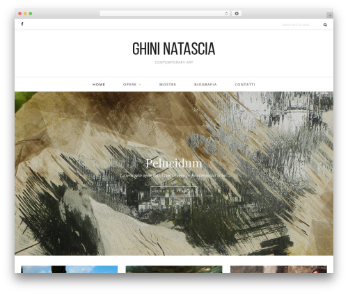 Oleander top WordPress theme - ghininatascia.com
