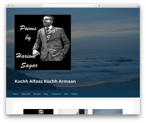 Primer free website theme - poemsbyhariomsagar.com