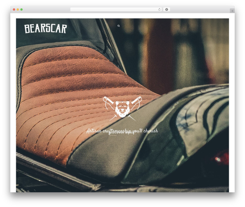 WordPress theme Narcos - bearscar.com