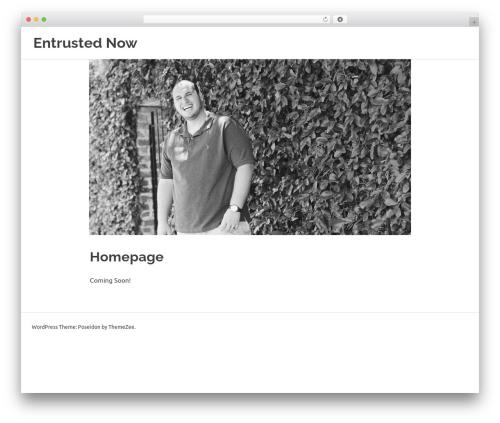 WordPress theme Poseidon - entrustednow.com