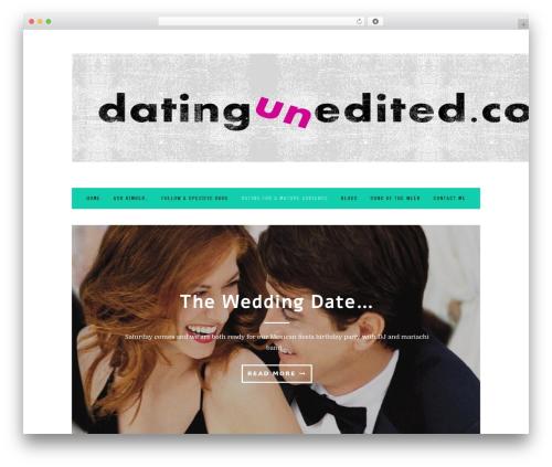 30 Day Blog Challenge WordPress blog theme - datingunedited.com