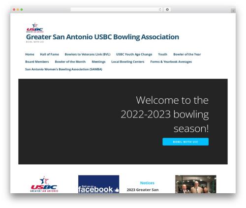 Ascension WordPress template - grsabowling.com