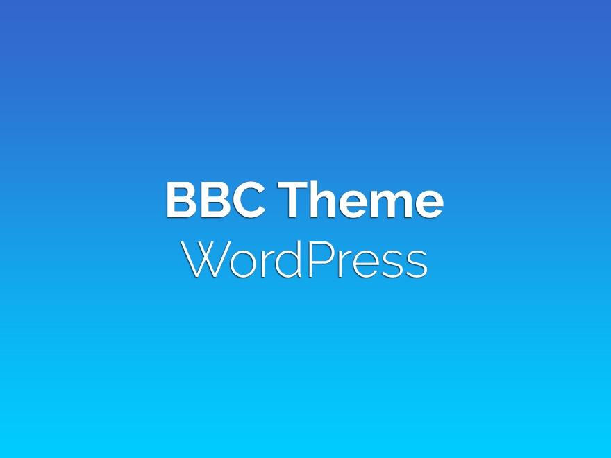 BBC Theme theme WordPress
