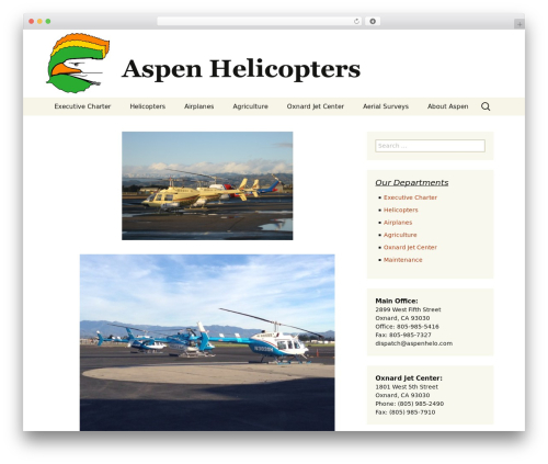 Twenty Thirteen free WordPress theme - aspenhelo.com